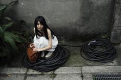 笠井爾示 写真展「七菜乃と湖」