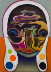 「無題」カンヴァスに油彩 103.5 x 73 cm 2019 年 Photo: Kei Okano ©2019 Izumi Kato