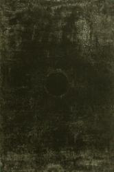 川島清「DOUBLE 摂氏447.5℃ Ⅲ」2007 ドライポイント、サルファチント、銅板、アルシュ紙 62.0x41.5cm