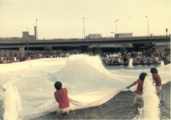 《白布400 ㎡》1972 年