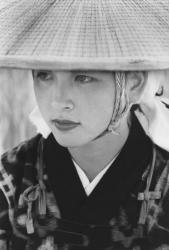 撮影 木村伊兵衛「秋田おばこ 秋田・大曲」1953年