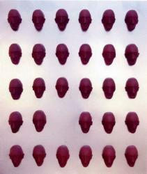 木座間ひさし展 「まだらグレー、数のうちのひとつ」