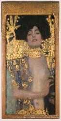 グスタフ・クリムト《ユディトⅠ》 1901年 油彩、カンヴァス 84×42cm ベルヴェデーレ宮オーストリア絵画館 © Belvedere, Vienna, Photo: Johannes Stoll