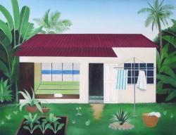 """""""家"""" 2019, 41 ×53 cm, Oil on canvas"""