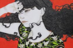 佐久間友香展 「真っ白と真っ黒」