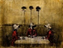 モリケンイチ「 夢の草原~3つのペルソナ 」