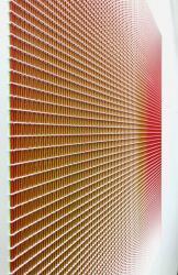 "Tomoki Furuhata  ""Automatic Line No. 0069"" 2020, Acrylic on cotton cloth, 91.0 x 91.0cm"