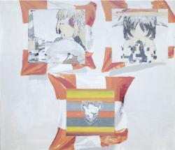 """大竹竜太 """"11""""  2021年 アクリル、キャンバス  104.0 x 120.0cm ©Ryuta Ohtake"""