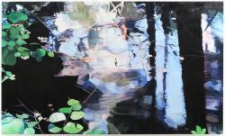 "Chika Osaka ""Untitled"" 2020, Oil on canvas, 97.0 x 162.0cm"