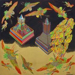 田名網敬一 「空中回廊(1975-1993)」 第2部