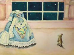 根本寛子 / Hiroko Nemoto, 2015, watercolor on paper