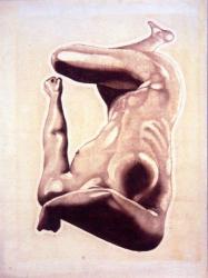 《雲》1947年、木版・紙