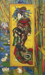 フィンセント・ファン・ゴッホ《花魁(渓斎英泉による)》1887年、油彩・カンヴァス、ファン・ゴッホ美術館(フィンセント・ファン・ゴッホ財団)蔵 ©Van Gogh Museum, Amsterdam (Vincent van Gogh Foundation
