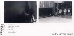 野村佐紀子写真展 「nude / a room / flowers](アートスペース獏)