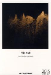 長谷川治胤展 「null null」