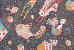 本田征爾展 -Starryeyed Spurious Swimmer-(乙画廊 2013/2/13-23)