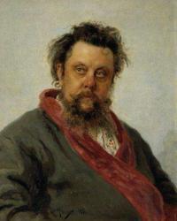 《作曲家モデスト・ムソルグスキーの肖像》 1881年、油彩・カンヴァス©The State Tretyakov Gallery