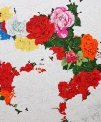 共讃の花花 2019年 72.7×60.6(㎝)
