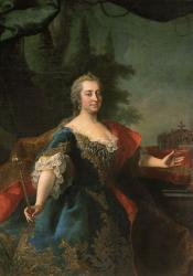 マルティン・ファン・メイテンス(子)《皇妃マリア・テレジアの肖像》1745-50年頃 油彩/カンヴァス ウィーン美術史美術館 Kunsthistorisches Museum Wien