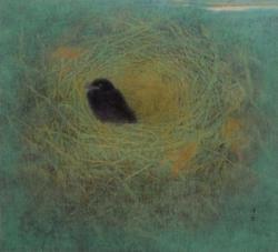 白井進《巣立ち》(1989)