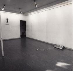 """exhibition view """"172800 Seconds"""" (1971 / galerie 16, Kyoto)"""