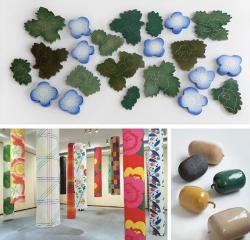 テキスタイルデザイナーから陶芸家へ。待望の大規模個展開催 石本藤雄展 -マリメッコの花から陶の実へ-