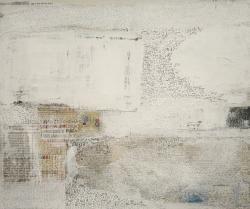 案内状作品 「UNTITLED」 46cm × 53cm コラージュ