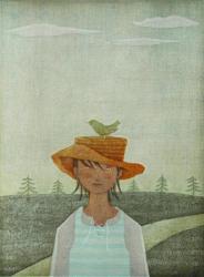 鈴木敦子 《小さな旅》 2006年 木版