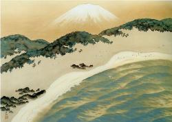 《砂丘に聳ゆ》1941 年 メナード美術館蔵