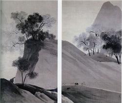 横山大観《帰牧図》1902-03 年