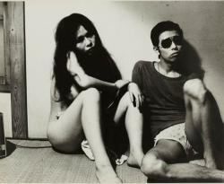Nobuyosi Araki,'' Tokyo Blues 1977'', 1977, Vintage gelatin silver print, paper size; 44.8 x 54.8cm