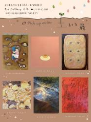 pick up color 土いろ展