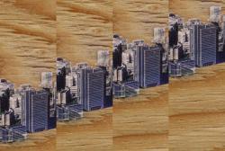 """「都市の早瀬」元にコンセプトイメージ ©都築 高広 Conceptual image based on """"Rapid city"""" ©Tsuzuki Takahiro"""
