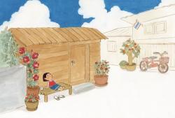 ウィスット・ポンニミット絵本原画展 『そらをみあげるチャバーちゃん』