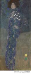 グスタフ・クリムト《エミーリエ・フレーゲの肖像》10902年 油彩/カンヴァス 178x80cm ウィーン・ミュージアム蔵 ©Wien Museum / Foto Peter Kainz