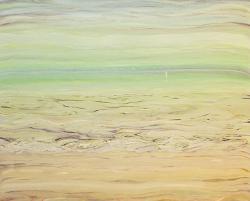 Yu Yasuda, Surficial 2014, oil on canvas, 162 ×130.3 cm
