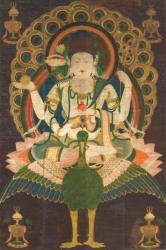 国宝 《孔雀明王像》 平安時代後期(12世紀)、絹本着色・一幅、147.9×98.9cm 東京国立博物館蔵、Image:TNM Image Archives ※展示期間:7月13日~8月7日