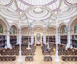 La Salle Labrouste - La Bibliothèque de l'INHA Paris II 2017